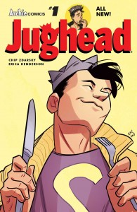 JUGHEAD #1 Cover by Erica Henderson