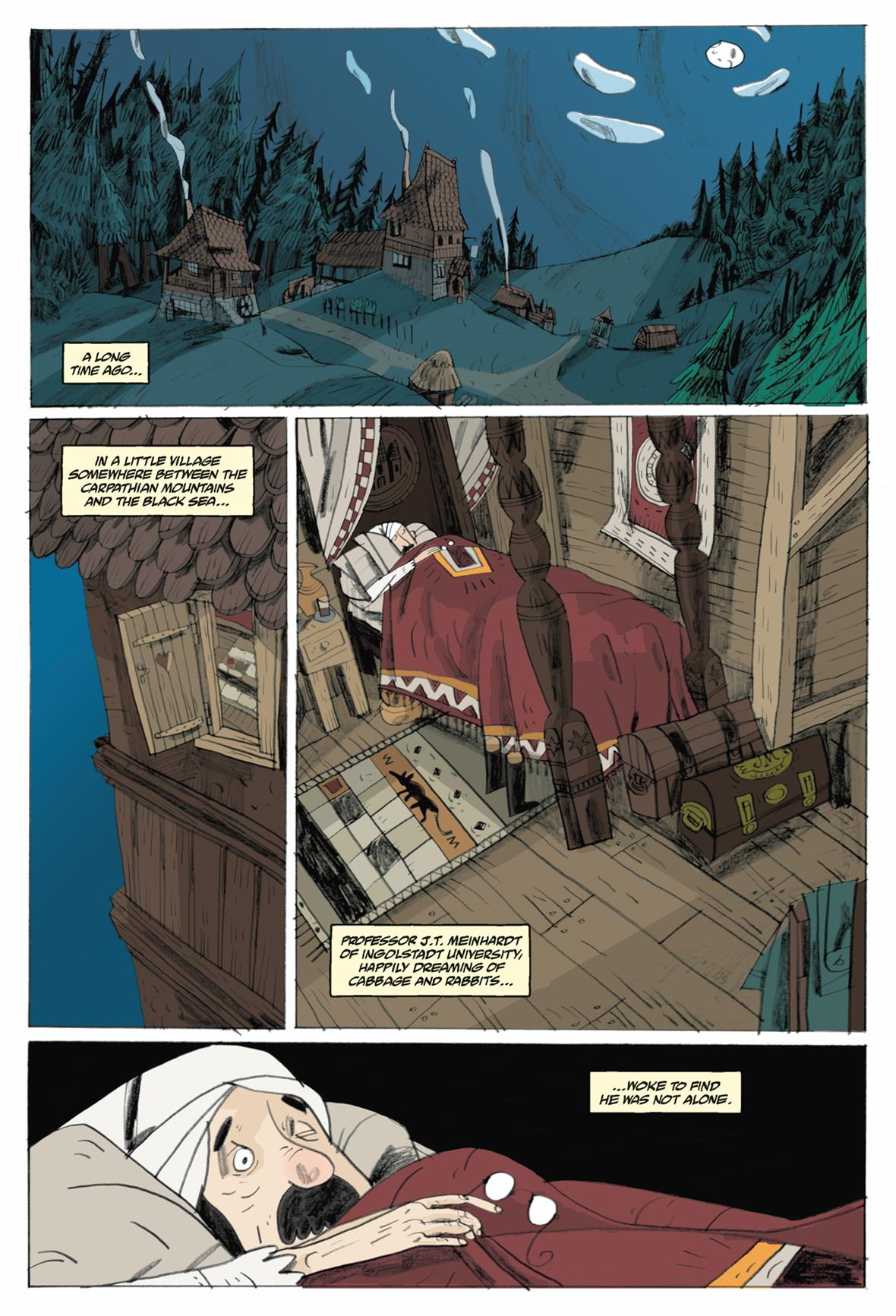 mr higgins comes home – an excerpt from an original graphic novel