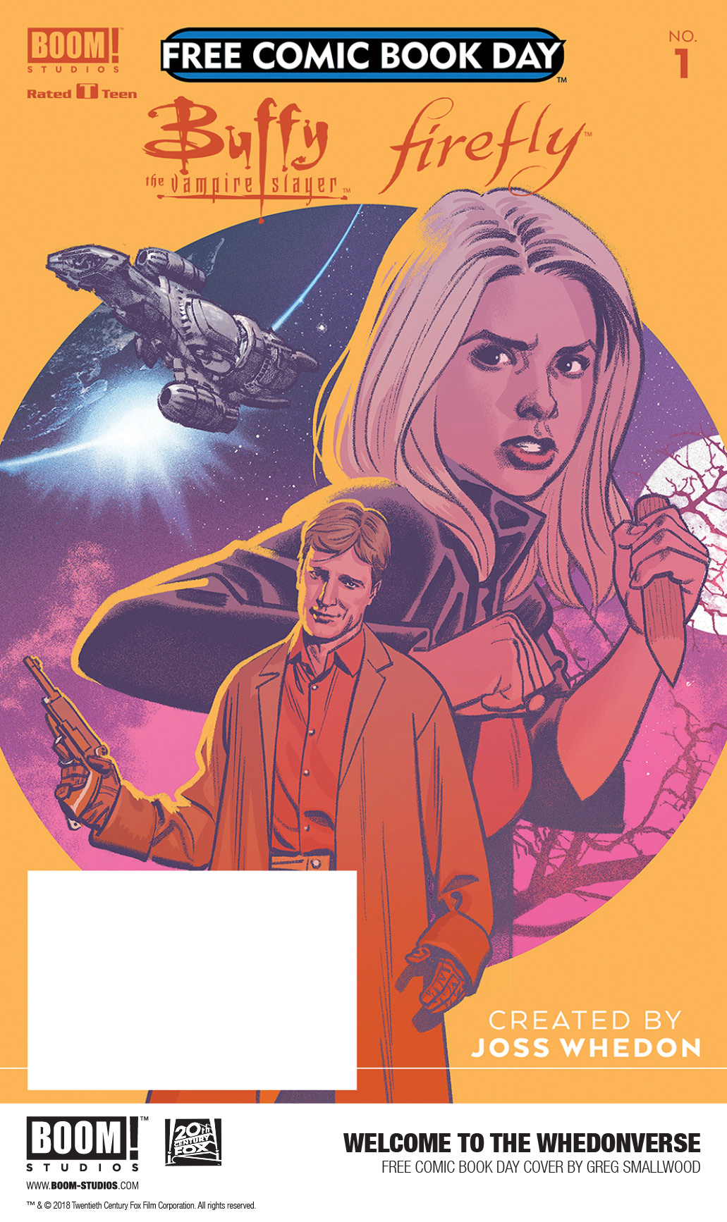 Firefly #4 BOOM STUDIOS JOSS  WHEDON COVER A 1ST  PRINT 2019