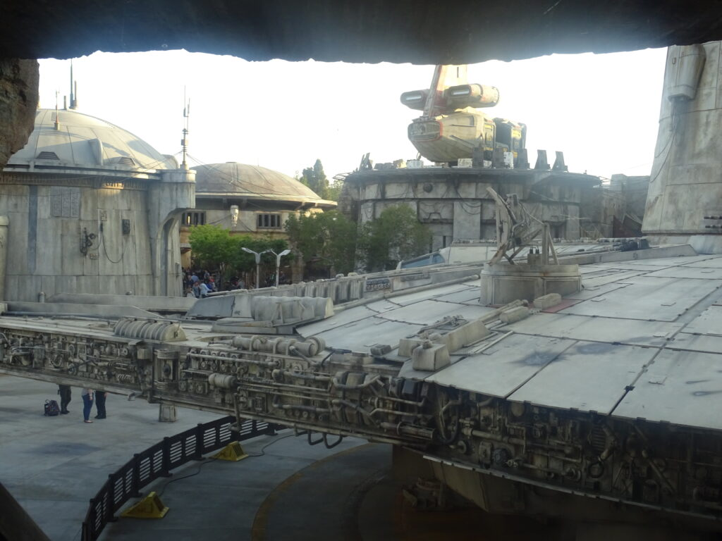 Sunset Over Batuu Day One At Star Wars Galaxy S Edge Mass Movement